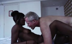 Amateur dude pays black hooker for sex in Amsterdam