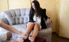 Tickling This Beautiful Chicks Feet