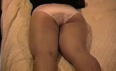 Shy And Chubby Woman Stripping Slowly