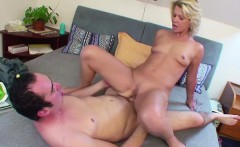 step mother caught german step son and helps with fuck