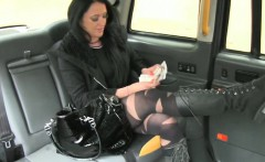 slutty amateur local escort fucks taxi man and facialed