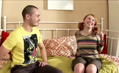 Fake Hardcore Casting for German Redhead Skinny Teen