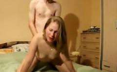 Horny Teen Girl Masturbating And Fucking