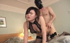 Gag ball loving Asian slut getting bdsm treated