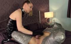 Mummification mistress dominating stupid sub