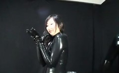 Japanese Latex Catsuit 57 - She is from ASIA-MEET.COM