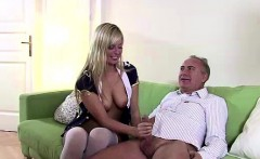 older british dude fucking blonde slut in stockings