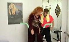 Fuck her on BBW-CDATE.COM - Old fat redhead gets drilled