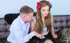 Charming young sexy teen girl Brooke Lynn gets a hard fuck