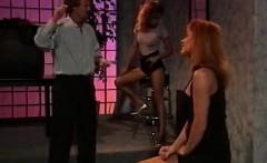 Leena, Asia Carrera, Tom Byron in vintage sex scene