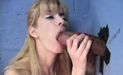 Used pussy MILF tries gloryhole and cumshot