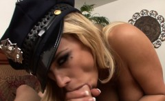 Blonde Cop Shyla Sucking And Fucking Hard