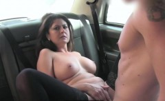 London cabbie fucks his Belgian chick