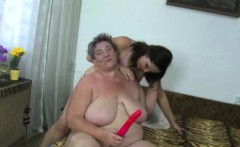 OldNanny Chubby ladies masturbate with a toy