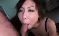 Cock sucking Ami Nagasaku cant wait to swallow