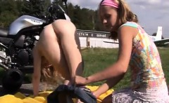 Tiny tits skinny teens Young lezzie biker girls