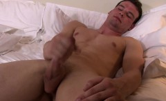 Ripped sailor drenched in jizz