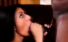 Queer finds his horny wife sucking a massive black cock