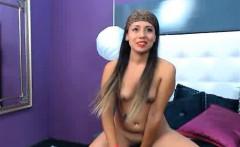 Webcam Girl Stripping In Motorcycle Helmet