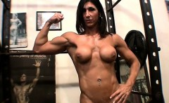 Hot Italian in the Gym