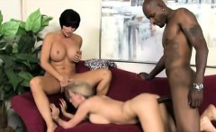 Shay helps daughter to please her teachers big black cock