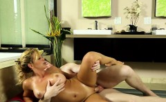 Stepmom and busty Cherie gets fucked