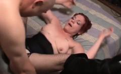 Amateur redhead MILF loves anal sex