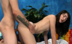 Fuckable sweetie gets seduces and drilled hard