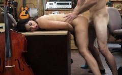Pawnshop pounding with a desperate Brazilian hottie