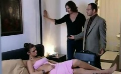 two cocks are not enough for horny angelina