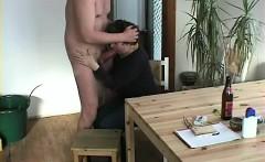 Married woman blowing my dick hand job pleasure