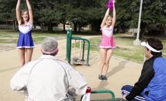 Alexa Grace And Molly Manson In Cheerleaders Pt.1
