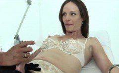 Unfaithful british mature gill ellis displays her massive bo