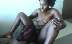 Afro lesbo going loco. Must see all these positions!