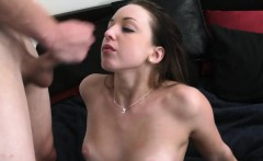 Longhaired babes get throats and pussies gangbanged well
