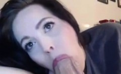 Slow blowjob