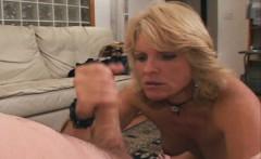 Three hole desperate slutwife Jackie gets group training