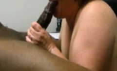 Adult white milks her initial bbc in her mouth