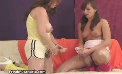 two hot big cock teen girls cuming