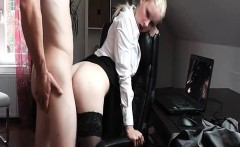 Hot Assistant Wants Some Tricky Dick