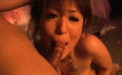 Nagisa Uematsu throats like a goddess and swallows