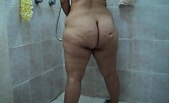 Large behind bath