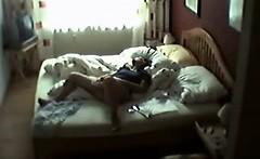 Our hidden camera saving my sister masturbating