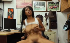 Brittney gets the cash for a hard sex