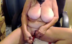 Mature MILF with Real Big Boobs