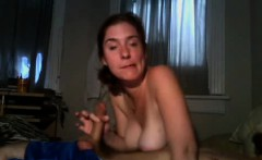 Wife having fun with the penis of husband