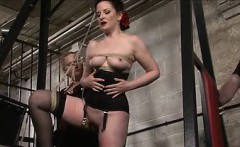 slave caroline whipped by master and mistress