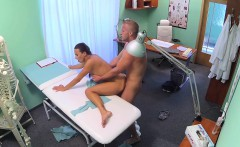 FakeHospital Sexy nurse gets a mouthful of cum