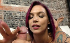 milf anna bell peaks milking a cock