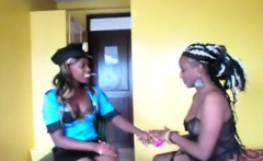African lesbian dress up party! Must see